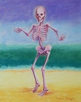 Skelly Dancer V Fine-Art Print