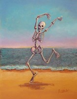 Skelly Dancer VIII Fine-Art Print