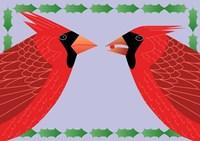 Cardinals Holly Fine-Art Print