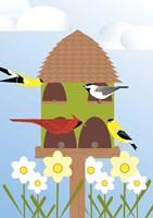 Bird Feeder Fine-Art Print