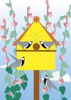 Chickadees 2 Fine-Art Print