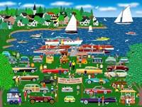 Classic Car Boat Show Fine-Art Print