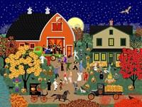Halloween Barn Dance Fine-Art Print