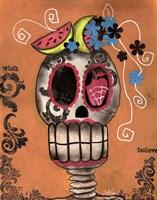 Day Of The Dead Watermelon Fine-Art Print