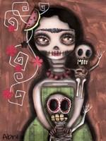 Frida Day Of The Dead Fine-Art Print