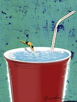 Big Drink Fine-Art Print