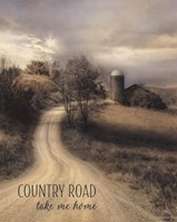 Country Road Take Me Home Fine-Art Print