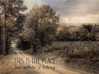This is the Place Where I Belong Fine-Art Print