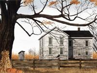 Harvest Time House Fine-Art Print