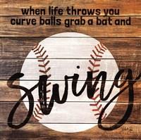 Grab a Bat and Swing Fine-Art Print