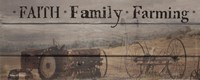 Faith, Family, Farming Fine-Art Print