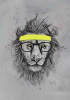 Hipster Lion Fine-Art Print