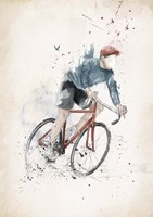 I Want To Ride My Bicycle Fine-Art Print