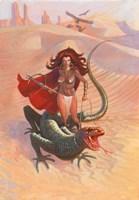 Desert Warrior Fine-Art Print