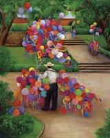 Balloons In The Park Fine-Art Print