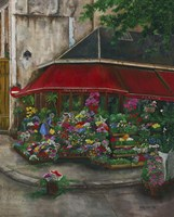 Florist On The Rive Gauche Fine-Art Print