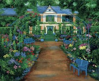French Garden Fine-Art Print