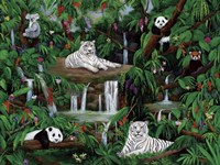 Friends In The Rainforest Fine-Art Print