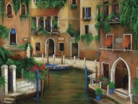 Hotel On The Canal Fine-Art Print