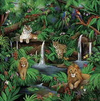 Paradise Jungle Fine-Art Print