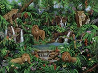 Peaceful Jungle Fine-Art Print