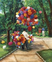 The Balloon Man Fine-Art Print