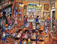 School Room Fine-Art Print