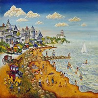 Cape May Beach Fine-Art Print