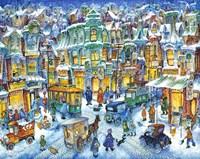 Old City Snow Fine-Art Print