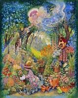 My Gardening Angel Fine-Art Print
