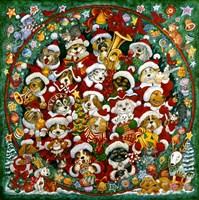 Santa Paws Christmas Fine-Art Print