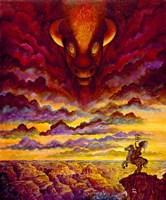 Raging Buffalo Fine-Art Print