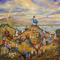 Sermon On Mount Fine-Art Print