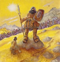 David & Goliath Fine-Art Print