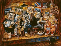 Bull Dog Blues Band Fine-Art Print