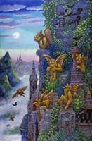 Gargoyle's Twilight Fine-Art Print