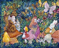 Alice And The Caterpiller Fine-Art Print