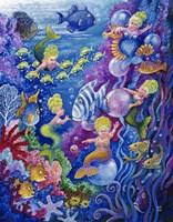 Little Little Mermaid Fine-Art Print