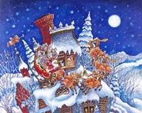 Santa Is Here Fine-Art Print