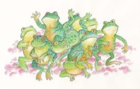 Frogs are Jumping Fine-Art Print