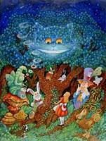 Alice & The Cheshire Cat Fine-Art Print