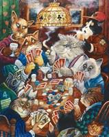 Poker Cats Fine-Art Print