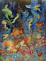 Mermaids Of Atlantis Fine-Art Print