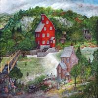 The Red Mill Fine-Art Print