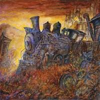 Rusty Train Fine-Art Print