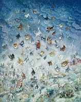 Raining Cats and Dogs Fine-Art Print