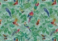 Aviary Aqua Fine-Art Print