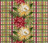 Cereus Plaid Multi Fine-Art Print
