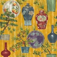 Japanese Vases Gold1 Fine-Art Print