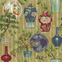 Japanese Vases Neutral1 Fine-Art Print